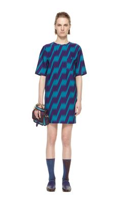 M Missoni - Thunderbolt Dress Fall Style 2013