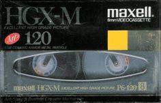 Maxell HGX-M 120 min 8mm High Grade Videocassette #Maxell