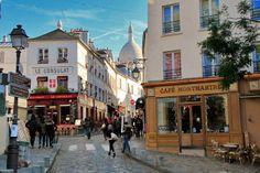 PARIS - Rue Norvins, in Montmartre - http://fuievouvoltar.com