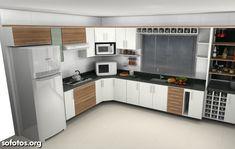 Nestes tempos modernos quando todos buscam por imóveis mais sofisticados, a cozinha planejada é cada vez mais preferida no mercado, especialmente quando es