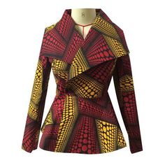 Latest collection of the best and trendy ankara jackets and ankara blazers styles there are out there. DO you love ankara blazers and jackets styles. African Blouses, African Tops, African Women, Latest African Fashion Dresses, African Inspired Fashion, African Print Fashion, African Attire, African Wear, African Dress
