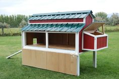 Free Plans For An Awesome Chicken Coop - Home Depot