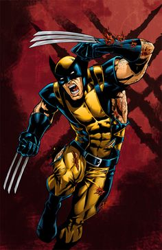 Wolverine the Sultan of Slash! by BrianAtkins.deviantart.com on @deviantART Open for commissions and prints available