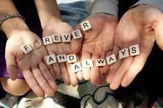 I love the idea of using scrabble pieces in photos!