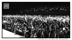 Photo 320 of 365 Crowd 2011 - Shout It Out World Tour - Sao Paulo, Brazil  This shot is from our show in Sao Paulo in 2011. Who was there? We're really excited to come back to Brazil again soon!  #Hanson #Hanson20th