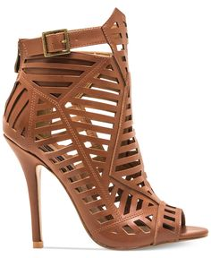 Nothing says fierce like a good caged sandal, and the unique diagonal bars on these Chelsea & Zoe Parnika booties have us obsessed!