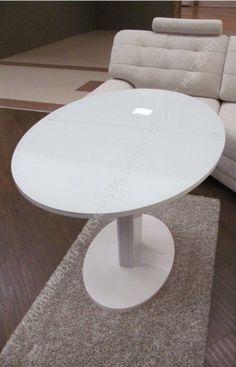 раскладной белый стол B2332 легко купить в Аксиома Мебель