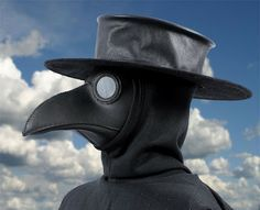 Tom Banwell—Leather and Resin Projects: Making a Plague Doctor's Hat -Interesting tutorial on making a leather hat. Some of the techniques here are interesting ideas for various hat projects.