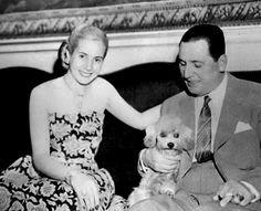 Eva and Juan Perón