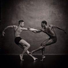 sonhador69:  Lloyd Knight & Abdiel Jacobsen Martha Graham Company NYC Dance Project
