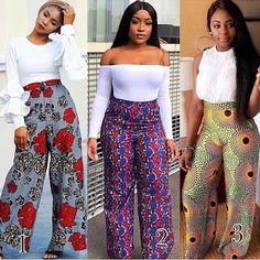 Latest Ankara Dress Styles - Loud In Naija African Wear Dresses, African Fashion Ankara, African Inspired Fashion, Latest African Fashion Dresses, African Print Fashion, African Attire, African Print Pants, African Print Clothing, Ankara Dress