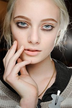Make-up by François Nars for NARS. Marc Jacobs Collection Fall 2012