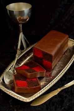 Chocolate Raspberry Battenberg