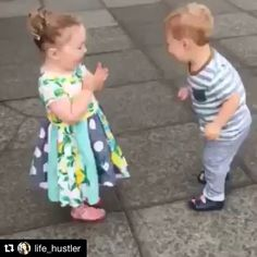 Well, isn't this sweet. Do you remember your first kiss? 💋 #Repost @life_hustler ・・・ The sweet innocent laughter of a child. First kiss ❤️#love #firstkiss #innocence #innocenceofachild #firstkisses #firstkissoftheyear #kids #happy #kiss #happiness #baby #children #babies #cute #sweet#igbabies #instababy #kid #childrenphoto #instagood #photooftheday #adorable #family #little  #smile #child