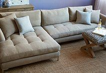 ONE KINGS LANE: love the seat as a coffee table