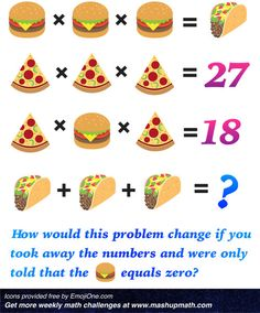 5 Middle School Math Puzzles