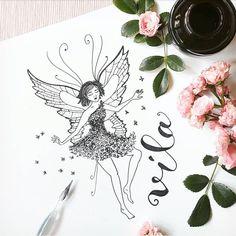 Víla. Fairy.