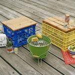 Milk Crate Stool, DIY from Working Class Magazine