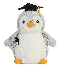 Grad PomPom Gray Penguin 9 by Aurora