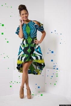 Kahindo Mateene, Fashion Designer, Selected To Compete On 'Project Runway' Season 12 (PHOTOS)