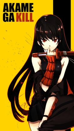 Picture of the Day: Akame ga Kill Bill - See more anime at: www.cartoonanimefans.com