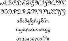 Merveille #fonts #typography #calligraphy #webdesign