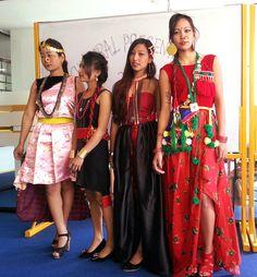 Sanila Manadhar (Sunuwar Kirat, Rai, Newar culture fashion, Sunuwar dress Art, Design & Fashion Presentaion) sunuwar dress