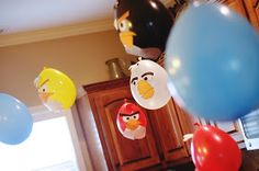 """My 4 Misters & Their Sister: Happy """"Angry Bird""""day To You"""