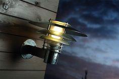 Wandlamp buiten industrieel koper of gegalvaniseerd E27 IP54 310mm Ø