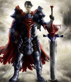 Medieval Superman by CapKaboom