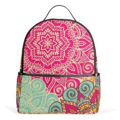 Back to school with mandala printed backpacks