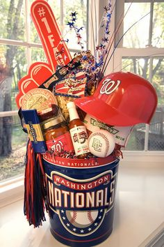 Gotta get something like this together to raffle off at relay! Of course it will have to be St Louis Cardinals :)