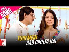 Tujh Mein Rab Dikhta Hai - Full Song - Rab Ne Bana Di Jodi - YouTube...I listen to this song every single day!!!