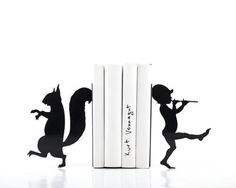 Custom Laser Cut Animal Bookends   Made on Hatch.co