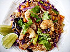Thai Fusion Rainbow Noodles