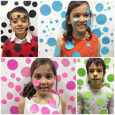 Yayoi kusama for kids Art Lessons For Kids, Art Activities For Kids, Art Lessons Elementary, Preschool Art, Art For Kids, Yayoi Kusama Pumpkin, Group Art Projects, Dot Day, Ecole Art