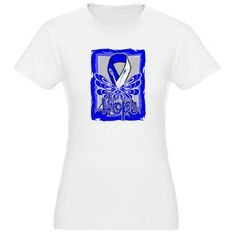 ALS Disease Hope Butterfly shirts, apparel and gifts #ALS #ALSdisease #ALSAwareness