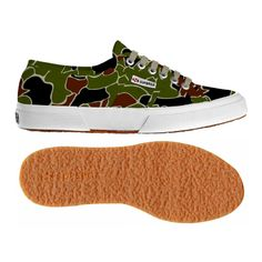€ 59,00 - 2750-COTCAMOU . Superga 2750 shoe in canvas camouflage for man and…