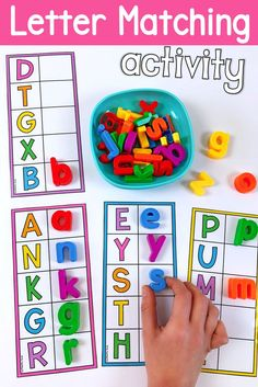 Fine Motor Alphabet Activity Mats: Drive & Write Transportation Lower and upper add matching activity. This literacy center has students match magnetic letters to find the uppercase letters. It is ideal for kindergarten and pre-k students. Toddler Learning Activities, Preschool Learning Activities, Preschool Lessons, Pre K Activities, Kindergarten Literacy Activities, Preschool Social Studies, Letter Sound Activities, Preschool Special Education, Preschool Printables