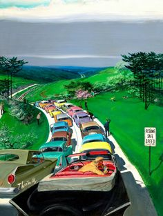 The Road to Suburbia by Thornton Utz