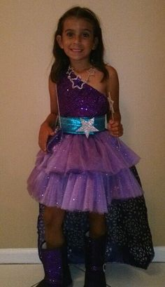 Barbie Princess and Popstar Keira Purple Dress by HandmadebyCatira, $139.99