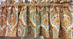 "Mandalay Valance 72""w x 15""l @ $19.99. To Order Call toll-free 877-722-1100"