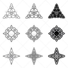 Celtic Knots Models and Patterns #GraphicRiver Collection of ornamental celtic patterns. These endless shapes are made with precision, and they are Easy to color and modify. The archive include: EPS-10 compatible vector image file, Adobe Illustrator AI file, High resolution JPEG image file (5000×5000 pixels), High resolution PNG image file (5000×5000 pixels) with transparency Some of my collections Created: 3November13 GraphicsFilesIncluded: TransparentPNG #JPGImage #VectorEPS #AIIllustrator…