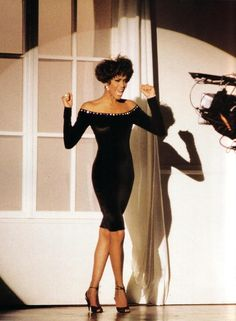 Whitney Houston!!! This is from the All The Man That I Need video shoot! One of my FAVORITE songs of hers!!!