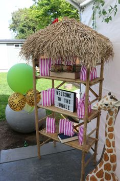 Welcome to the Jungle Birthday Party Ideas | Photo 1 of 86 | Catch My Party