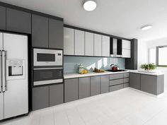 43 erstaunliche Ideen Urban Classic Kitchen Design 24 Hdb Küche Home Decor Pint… Kitchen Room Design, Kitchen Cabinet Design, Kitchen Layout, Home Decor Kitchen, Interior Design Kitchen, New Kitchen, Kitchen Modern, Kitchen Ideas, Modern Kitchens