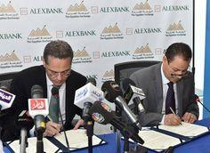 وكالة الأخبار الاقتصادية والتكنولوجية 2: البورصة وبنك الإسكندرية يطلاقان مبادرة لدعم قطاع ا...