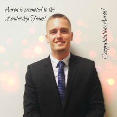 Benevolus would like to welcome Aaron to the leadership team.  He has been working extremely hard to hit goals and has exceeded expectations.  Great job Aaron!