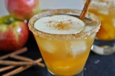 Apple Cider Margaritas.    How Sweet It Is