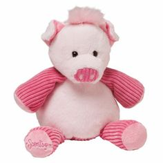 """Baby Penny the Pig is 7"""" tall when seated. She comes alive with fragrance when you place a #Scent Pak in her zippered pocket."""